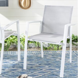Cargill Stacking Patio Dining Chair (Set of 2)