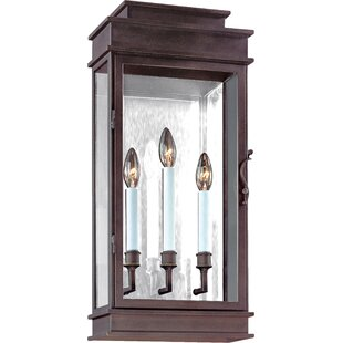Walworth 3-Light Outdoor Flush Mount by D..
