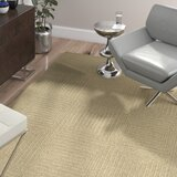 Brylee Wool Taupe Area Rug byWade Logan