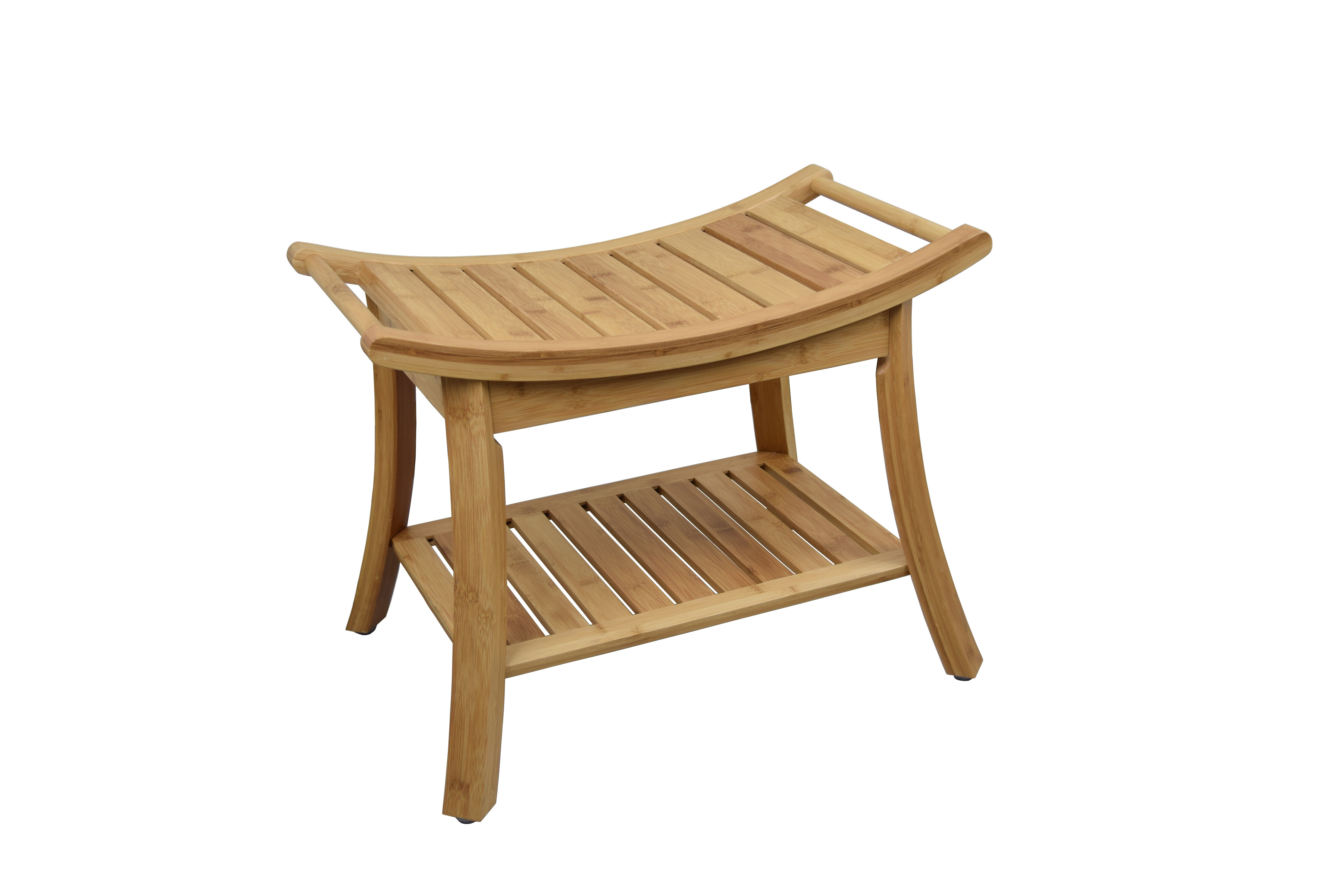 "7"" W Bamboo Shower Bench"