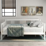 Idalia Full Solid Wood Daybed by Harriet Bee