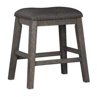 Cavallaro Backless Counter Height 24 Bar Stool (Set of 2)