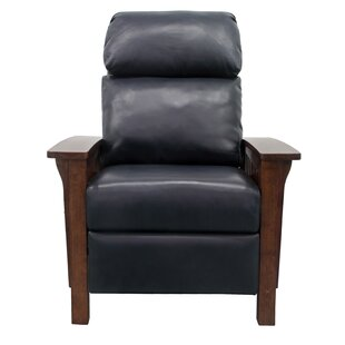 Jazmine Leather Manual Recliner by Red Barrel Studio