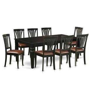 Appel 9 Piece Dining Set DarHome Co