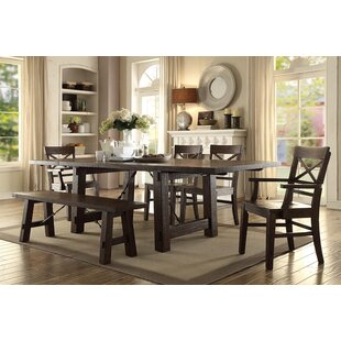 Anteus Trestle Dining Table by Gracie Oaks