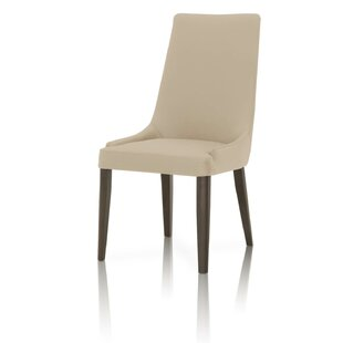 Hemsworth Leather Upholstered Dining Chair Set of 2 by Corrigan Studio