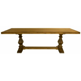 Balduíno Maple Extendable Solid Wood Dining Table One Allium Way