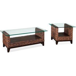 Braxton Culler Tribeca 2 Piece Coffee Table Set