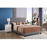 Stevie Upholstered Standard Bed by Wrought Studio™