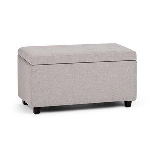 Alcott Hill Amador Upholstered Storage Bench