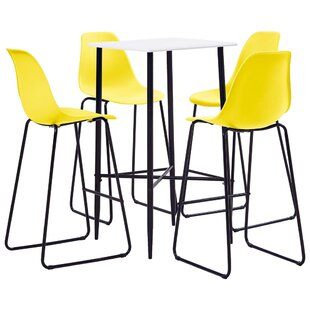 Dining Set With 4 Chairs By 17 Stories