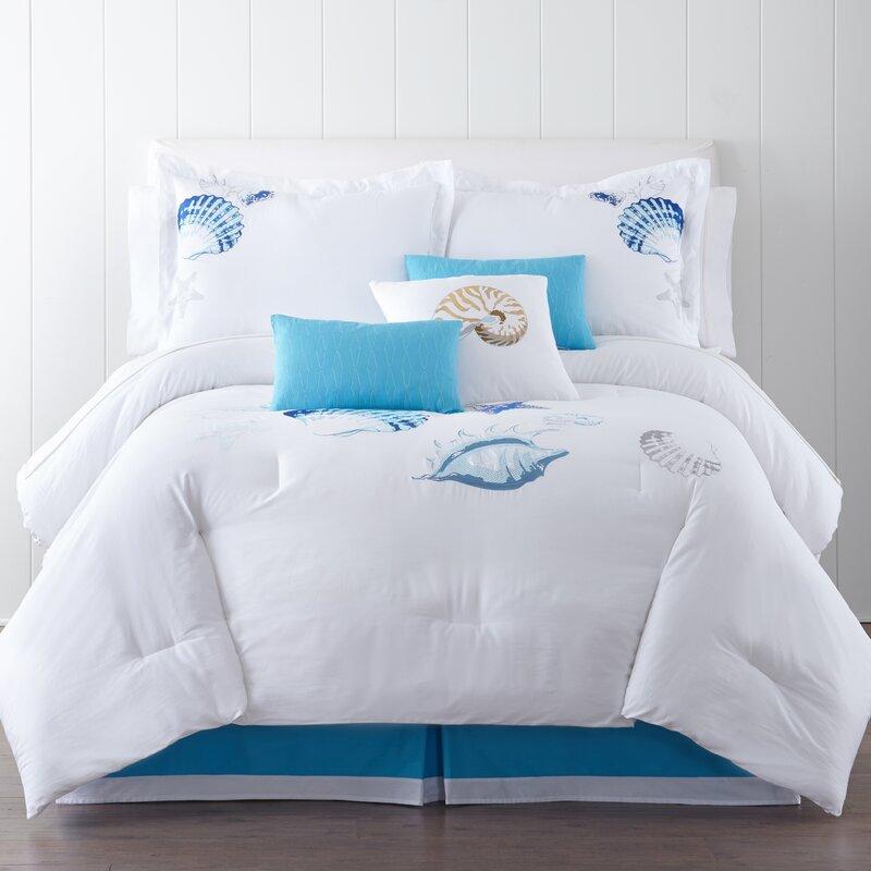 Panama Jack Ocean Shells Comforter Set