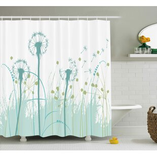 Yasmeen Floral Botany Blooms Shower Curtain By Brayden Studio