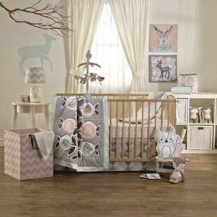 Sparrow 4 Piece Crib Bedding Set