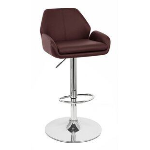 Tesla Adjustable Height Swivel Bar Stool