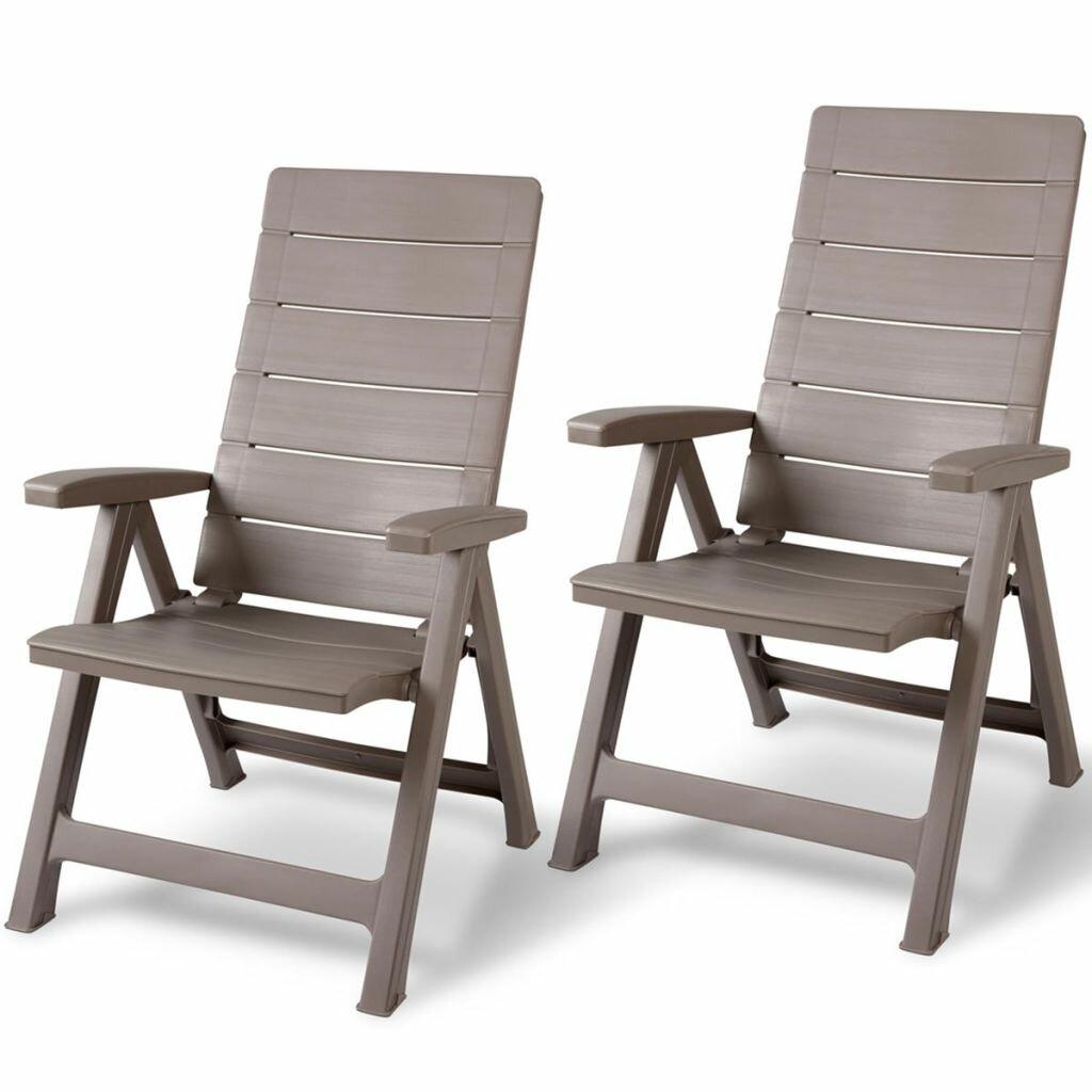 Brasilia Reclining Beach Chair Set