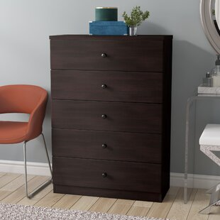 Budislav 5 Drawer Chest by Latitude Run