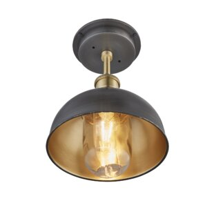 Brooklyn 1 Light Outdoor Flush Mount Image