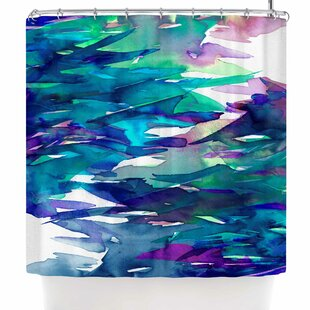 East Urban Home Ebi Emporium Fervor 4 Abstract Shower Curtain