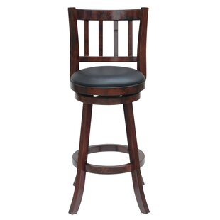 Lancelot 24 Swivel Bar Stool Andover Mills