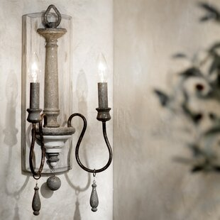 Compare & Buy Armande 2-Light Candle Wall Light By Lark Manor