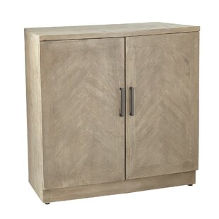 Luanda Rustic Wood Accent Cabinet by Union Rustic
