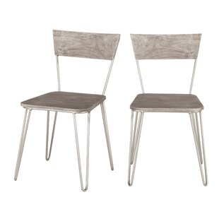 Allred Solid Wood Dining Chair (Set of 2) by Union Rustic