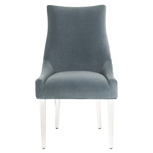 Lovie Acrylic Upholstered Dining Chair by..