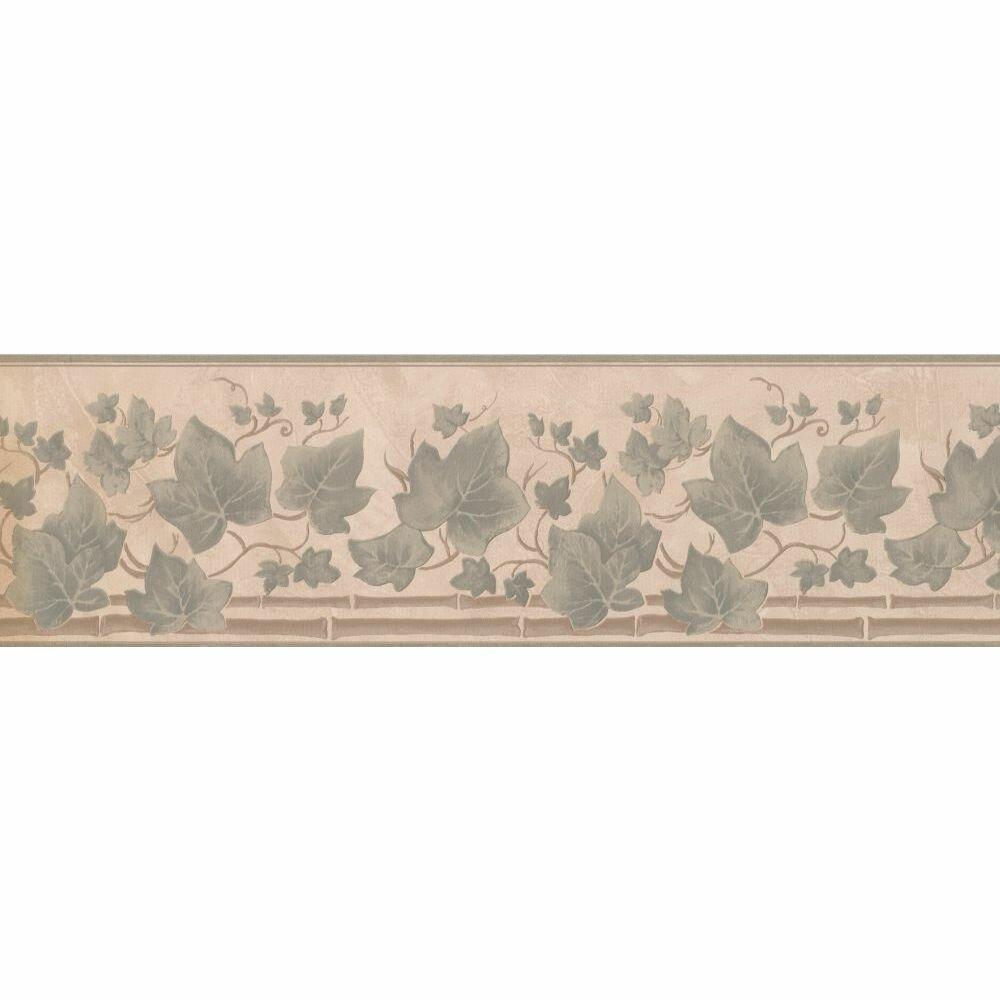 Charlton Home Gregson Floral 15 L X 7 W Wallpaper Border Wayfair
