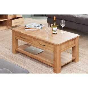Oscar Coffee Table With Magazine Rack By Marlow Home Co.