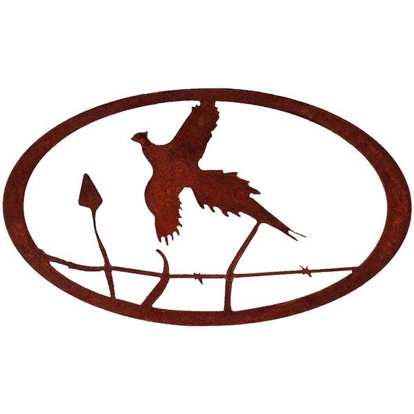 7055 Inc Pheasant Oval Wall Décor | Wayfair