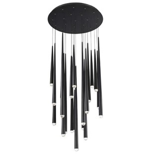 Cascade 21-Light LED Crystal Chandelier by Modern Forms