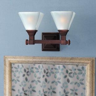Bevis 2-Light Vanity Light by Three Posts