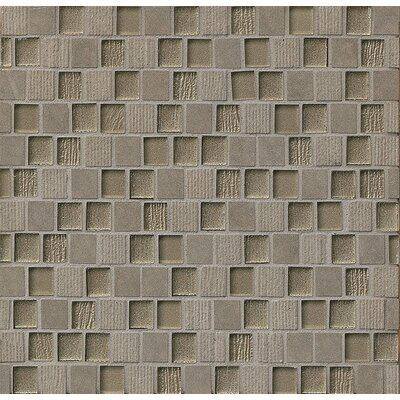 3 square feet of Self stick MOSAIC MESH for Glass offered by Makena Tile