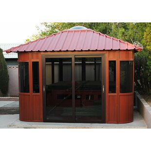 Westview Manufacturing Aspen 12 Ft. W x 12 Ft. D Manufactured Wood Patio Gazebo