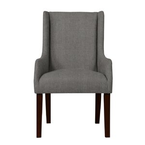 Larrabee Solid Back Formal Arm Chair
