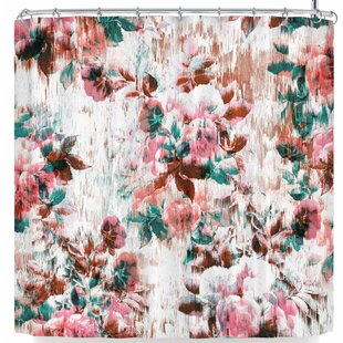 Victoria Krupp Washed Flowers Single Shower Curtain