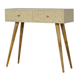 Kukkapalli Solid Wood Console Table By World Menagerie