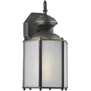 Order Lucien 1-Light Outdoor Wall Lantern By Charlton Home
