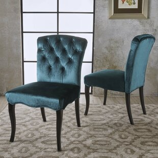 Blackmoore Upholstered Dining Chair (Set of 2) Rosdorf Park