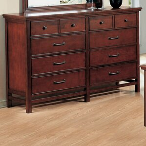 Boonville 7 Drawer Double Dresser by Darby Home Co
