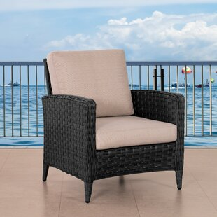 Adelaida Wide Patio Chair with Cushions
