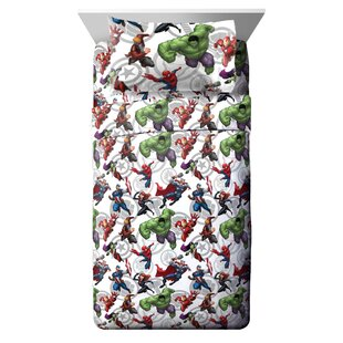 Avengers Team Sheet Set