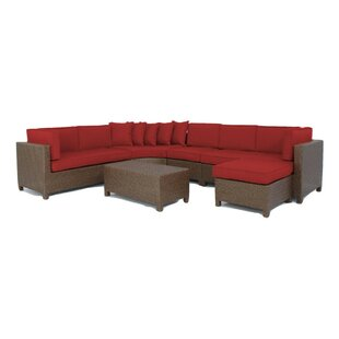 Luciano 6 Piece Sectional Set with Cushions