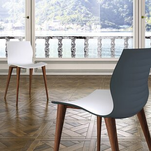 Akanksha Solid Wood Dining Chair (Set of 2) Orren Ellis