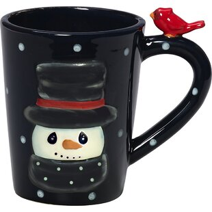 Snow Much Fun Snowman Ceramic Mug