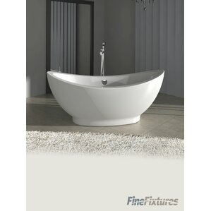 Freestanding Tubs - Free standing jetted soaking tub