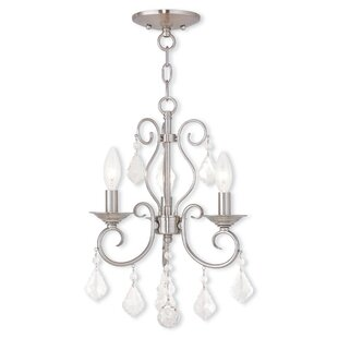 Astoria Grand Dockray 3-Light Candle Style Chandelier