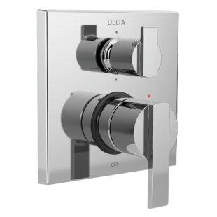 Delta Ara Angular Modern Monitor 14 Series Pressure Balance Valve Trim