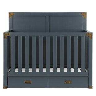 Sumitra 5-in-1 Convertible Crib with Storage